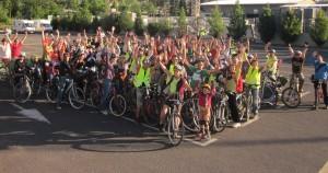 80 cyclsites sur 4 places du parking du Quattro