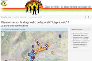 Diagnostic participatif de la cyclabilité à Gap