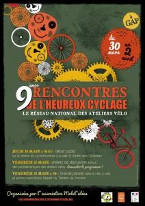 Rencontres nationales des ateliers vélo de France (voire plus), à GAP ! (30, 31/03 et 1er avril)