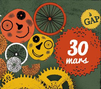 Soirée-débat «Tourisme à vélo ou l'évasion du cycliste urbain» – 30 mars, à Gap