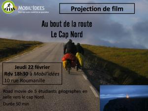 Projection apéro «Au bout de la route, le Cap Nord»