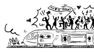 Rassemblement pour défendre le TER Gap-Grenoble !