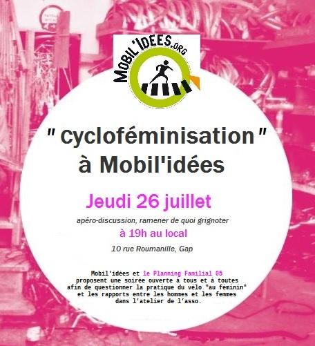 «Cycloféminisation» à Mobil'idées