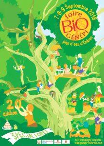 Foire bio Génépi 8 et 9 septembre au Plan d'eau d'Embrun