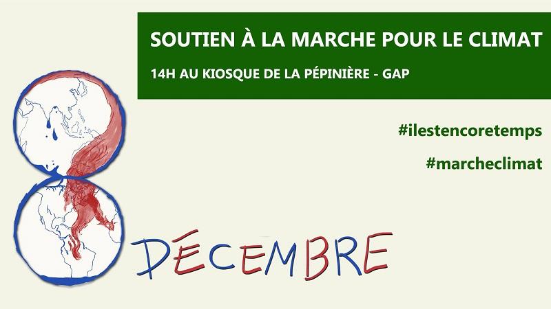 Samedi 8 décembre : Marche pour le climat !