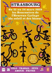 Mobil'Idées était présente aux 11èmes rencontres de l'Heureux cyclage à Strasbourg et vous raconte….