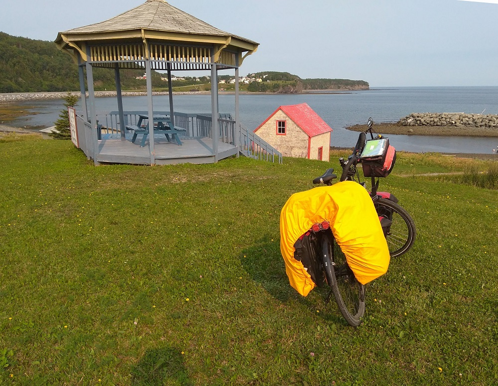 3200 km à vélo… au Québec et en Gaspésie !