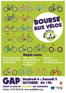 Bourse aux vélos d'automne à Mobil'idées