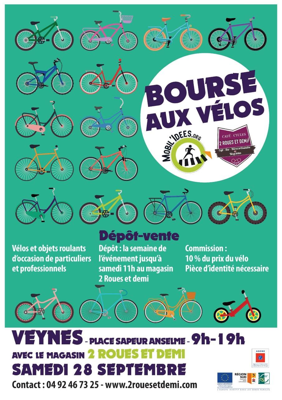 Bourse aux vélos à Veynes le 28 septembre !