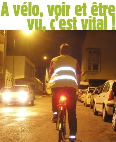 « Cycliste Brillez », automobilistes levez le pied