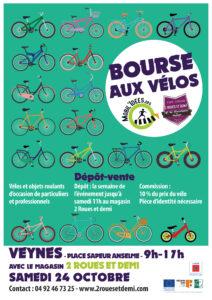 Une bourse aux vélos à Veynes !