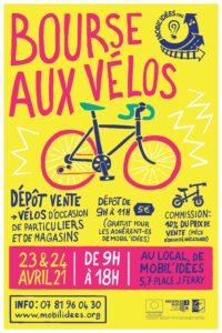 Bourse aux vélos pour le printemps de Mobil'idées !