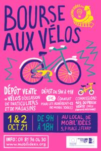 BOURSE AUX VÉLOS D'OCTOBRE 2021
